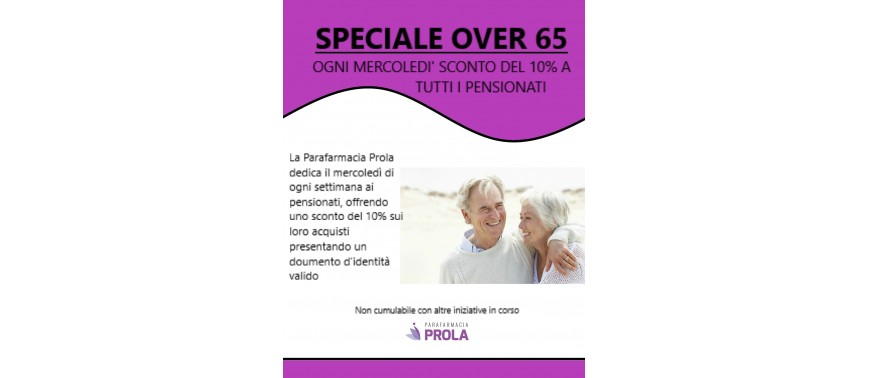 SPECIALE OVER 65
