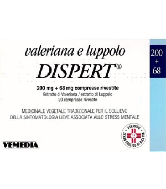 Valeriana Luppolo Dispert*20cpr