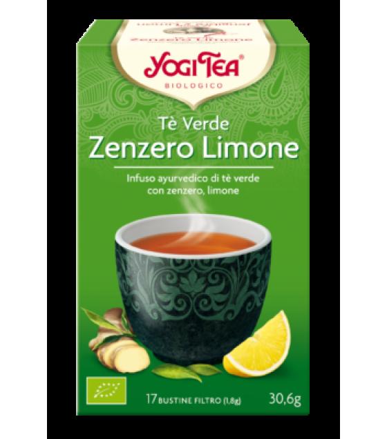 YOGI TEA TE' VER/ZENZ/LIM BIO