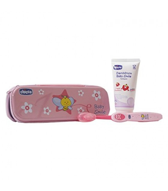 CHICCO SET DENTALE ROSA