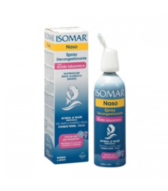 ISOMAR SPRAY DECONGEST CON ACIDO IALURONICO
