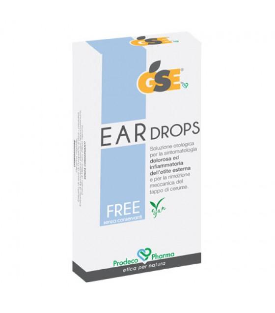 GSE EAR DROPS FREE 10PIP 0,3ML