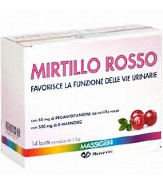 MASSIGEN MIRTILLO ROSSO 14BUST