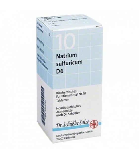 Natrium Sulfuricum 10schuss 6dh 50