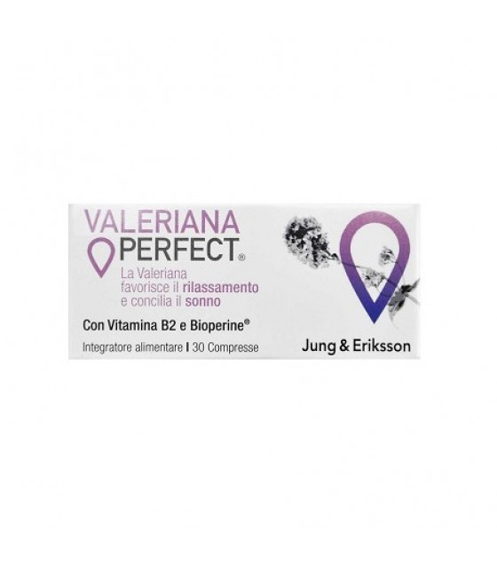 VALERIANA PERFECT J&E 30CPR