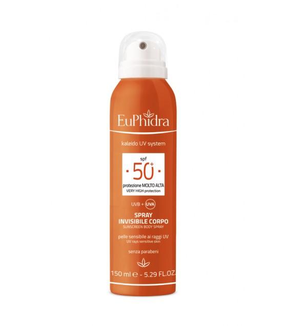 Euphidra Uvsystem Spray Invisibile Corpo 50+