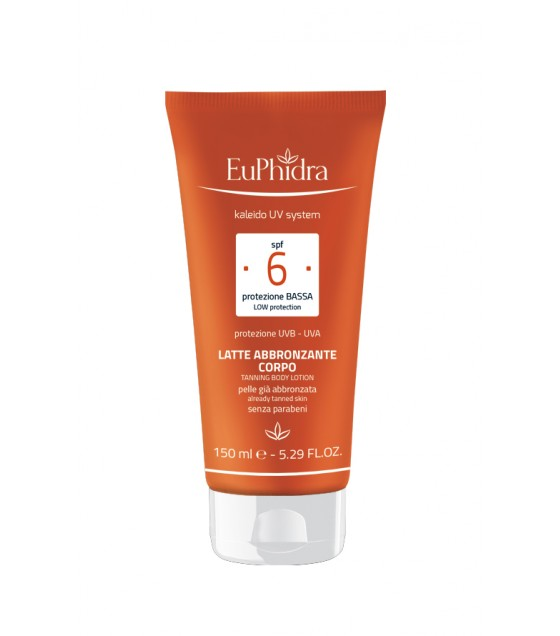 Euphidra  Uvsystem Latte Corpo Abbronzante 6