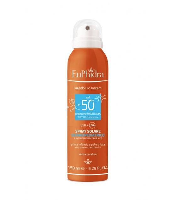 Euphidra Uvsystem Spray Solare Dermopediatrico 50+