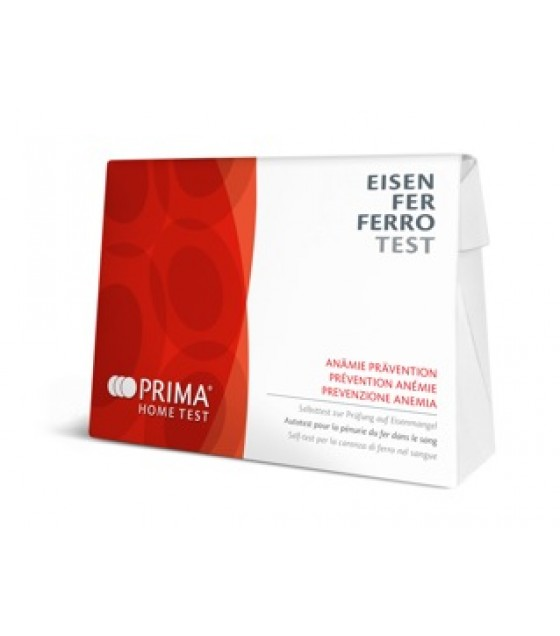 PRIMA HOME TEST FERRO-ANEMIA