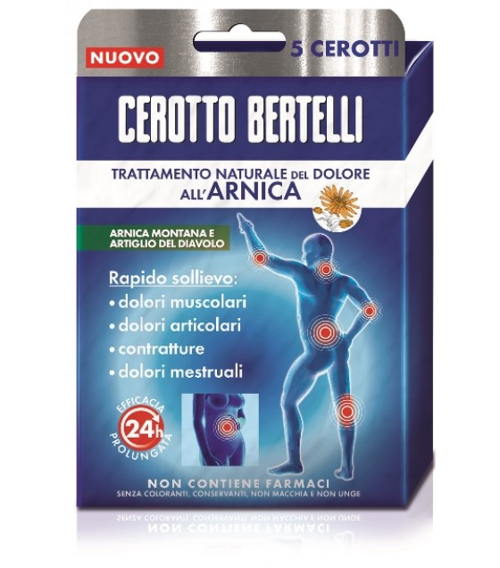 Bertelli Cerotto Arnica 5pz
