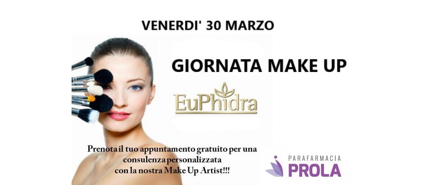 GIORNATA MAKE UP EUPHIDRA
