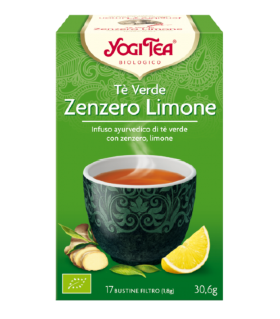 YOGI TEA ZENZERO LIMONE 30,6G