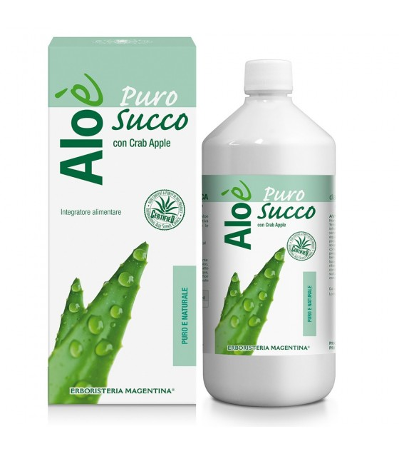 Aloe' Aloe Puro Succo Bio 1l