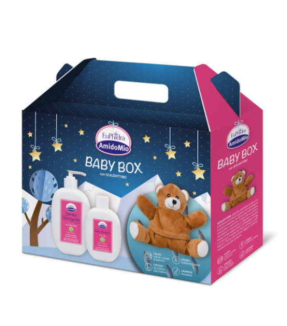 Euphidra Amido Baby Box+scaldottino
