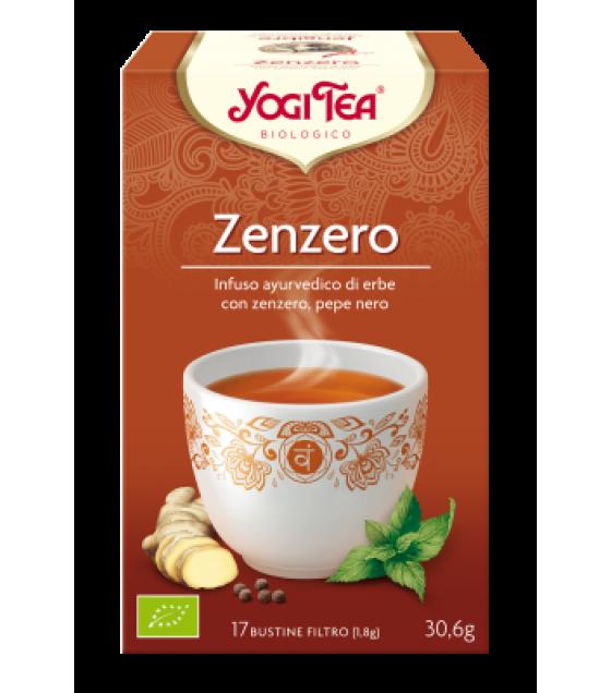 Yogi Tea Zenzero Bio 17filtri