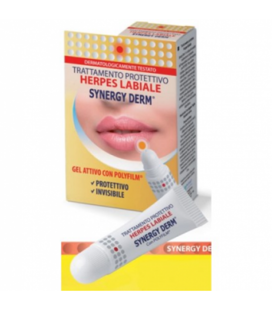 SYNERGY DERM HERPES LABIALE 15ML