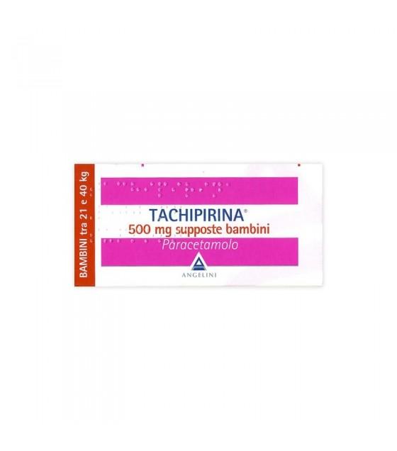 Tachipirina*bb 10supp 500mg