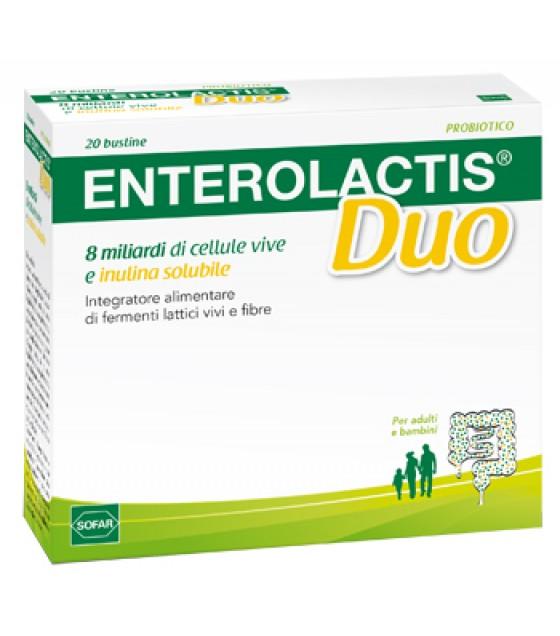 ENTEROLACTIS DUO POLV 20BUST