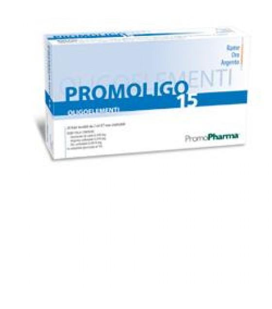 Promoligo 15 Cu/au/ag 20f 2ml