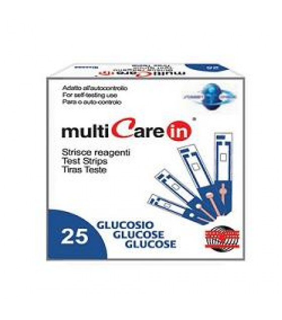 MULTICARE IN GLUCOSIO 25STR