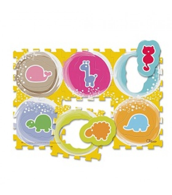CHICCO TOY PUZZLE MAT ANIMALS