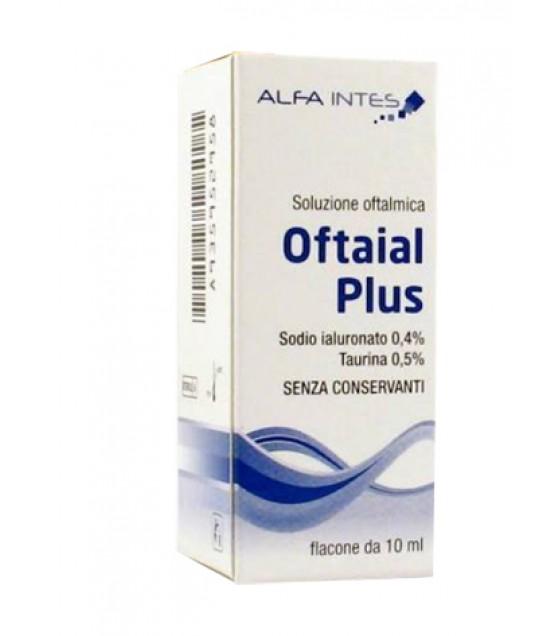 Oftaial Plus Soluzione Oft10ml