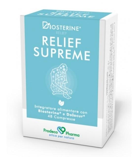Biosterine Relief Supreme48cpr