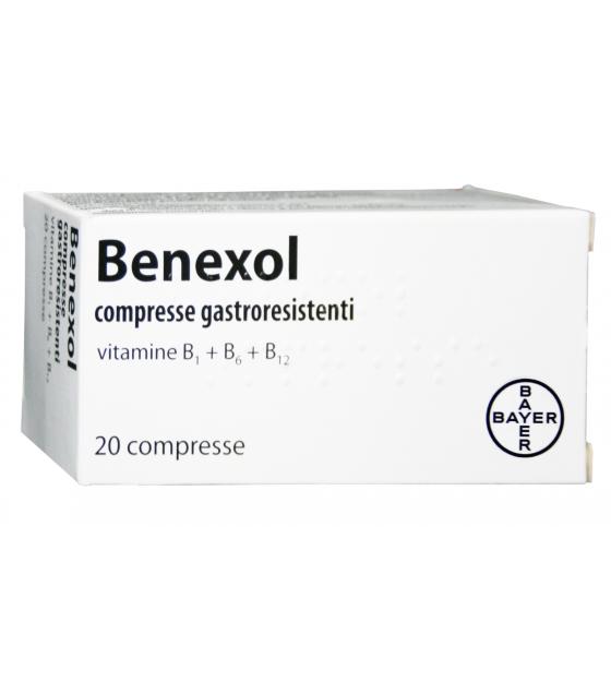 Benexol*20cpr Gastrores Fl